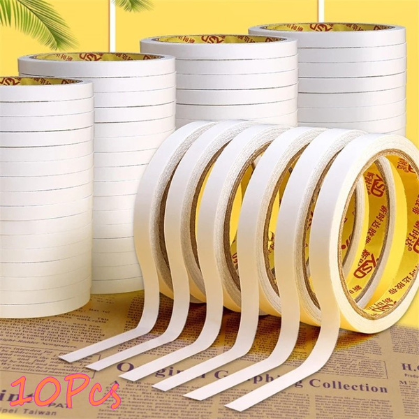 Craft Supplies, Adhesives, doublesidetape, whitetape