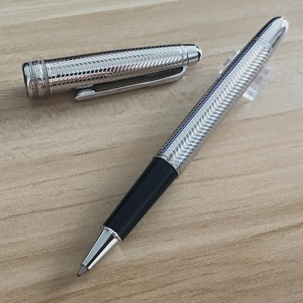 rollerballpen, Metal, silver, Pen