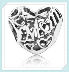 Sterling, Charm Bracelet, Jewelry, beadsfitpandora