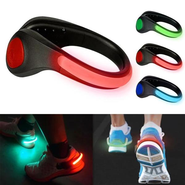 led, luminousshoeclip, Cycling, safetywarninglight