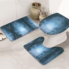 nonslipbathrug, Bathroom, bathrug, waterabsorption3piecesbathroomrug