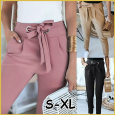 drawstringpant, Summer, trousers, skinny pants