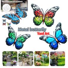 butterfly, Decor, Outdoor, Wall Art