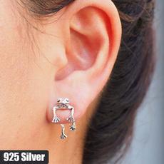 Sterling, golden, Men Earrings, Jewelry