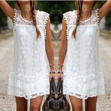 Summer, summer dress, Lace, Mini