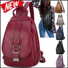 Shoulder Bags, black backpack, Fashion, women backpack