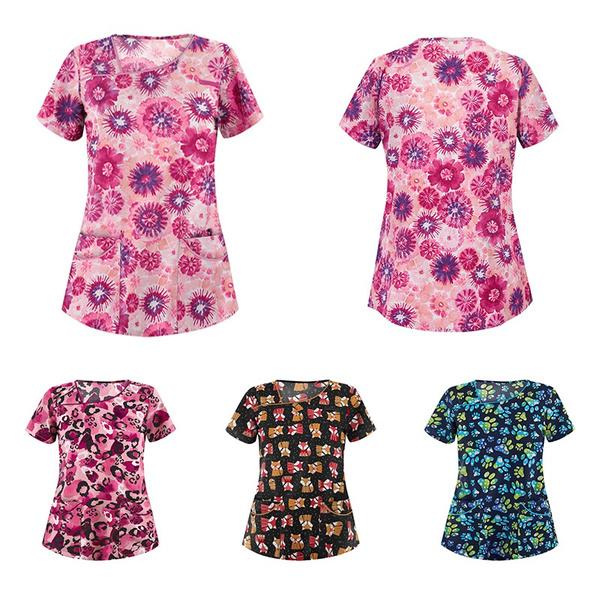 Summer, doctoruniform, Shorts, womensshortsleeve