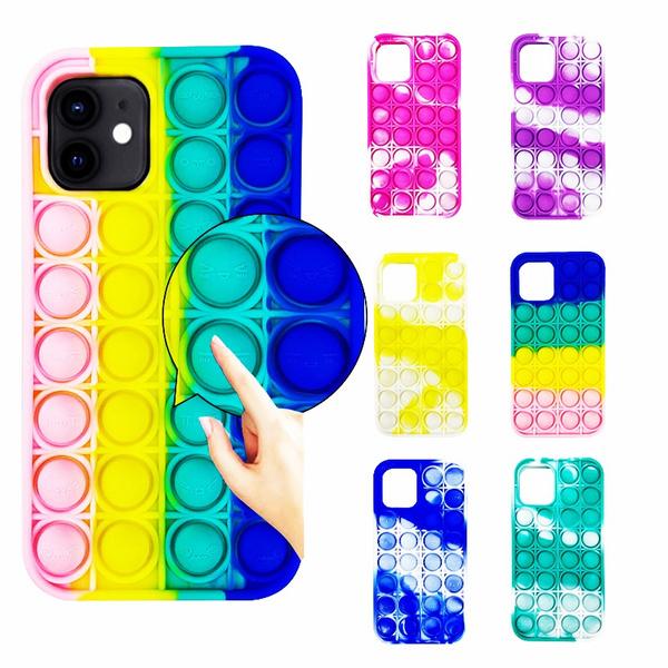 case, pushpopbubbletoy, iphone12, Toy