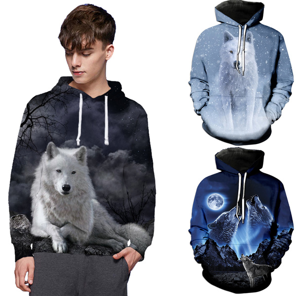 Funny, Fashion, Hoodies, Animal