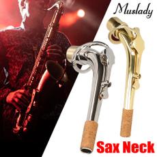 Brass, saxophoneaccessorie, Musical Instruments, Necks