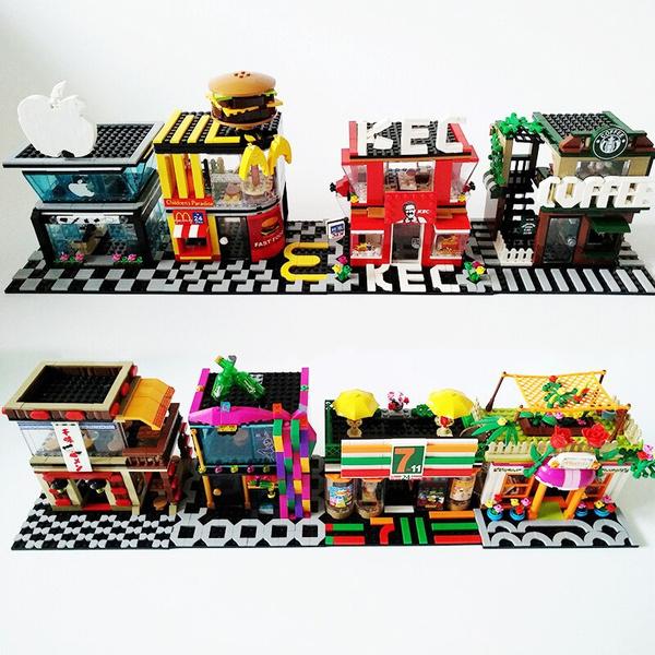 building, Toy, Girl, creator