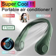 neckfan, portable, Cooler, hangingfan