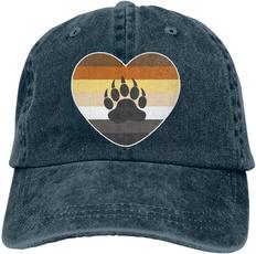 Heart, Adjustable, Cowboy, unisex