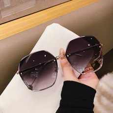 gradientcolor, Fashion, UV400 Sunglasses, oversizedsunglasse