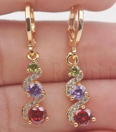 jadeearring, Dangle Earring, Gemstone Earrings, topazearring