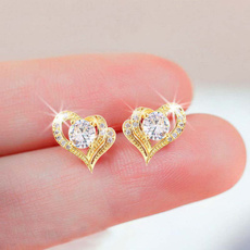 Sterling, Cubic Zirconia, DIAMOND, Love