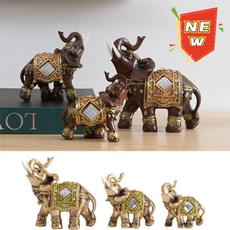 homedecoretion, elephantdecor, elephantstatue, luckyornament