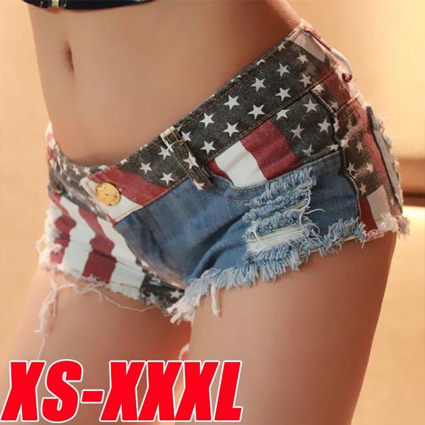 Summer, Shorts, Waist, womens jeans