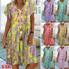 oversizedandloose, printeddres, Vintage, Summer