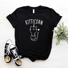 Funny, kitticorn, Fashion, Shirt