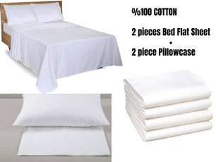 Cotton, bedflatsheetset, cottonpillowcase, Furniture