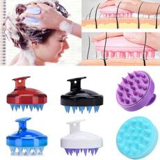 Shower, headmassager, massagebrushcomb, siliconemassagecomb