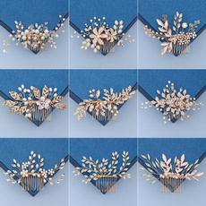 Combs, Jewelry, Wedding Accessories, pearls