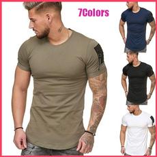 Fitness, Shorts, Cotton, Cotton T Shirt