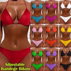 Mini, vneckswimsuit, hollyneckswimsuit, Bikini swimwear