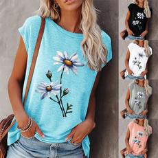 Summer, Fashion, short sleeves, Elegant