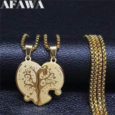 Steel, longpendantnecklace, Jewelry, Gifts