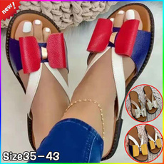 casual shoes, bowknot, Flip Flops, Sandals