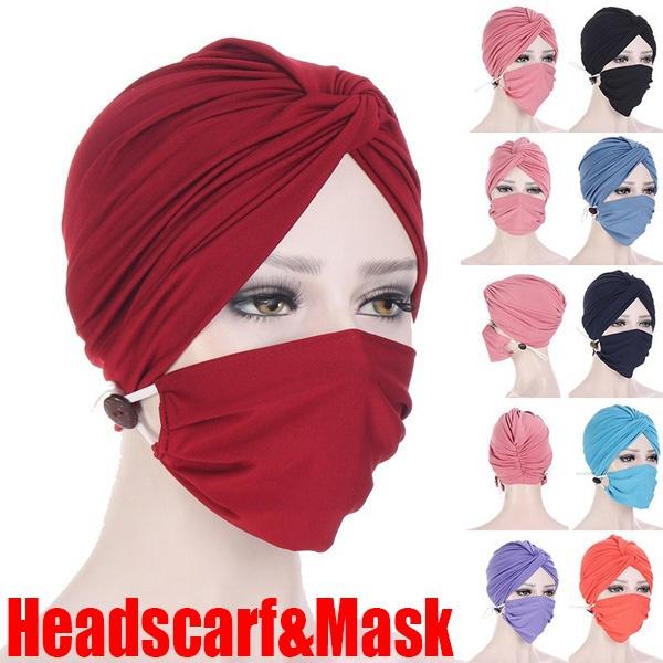 headbandandmask, Head, facemaskholder, antihairband