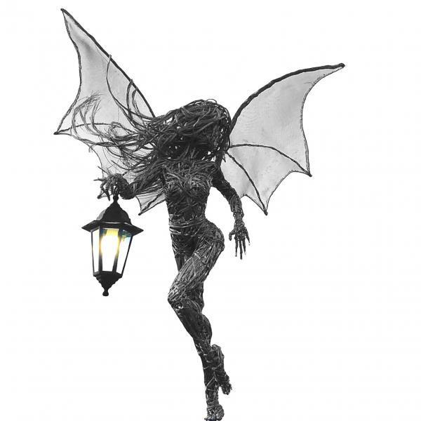 Decor, handicraft, Angel, statuedisplay