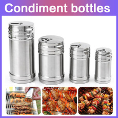 And, shaker, Set, Stainless Steel