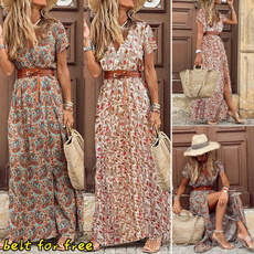 long dress, Dress, Elegant, beach dress
