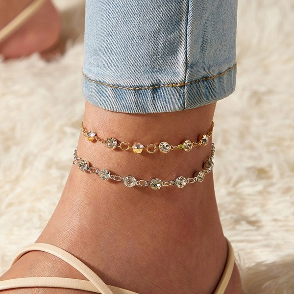 infinity bracelet, Summer, Fashion, Anklets