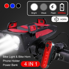 Flashlight, mobile phone holder, Cycling, Sports & Outdoors