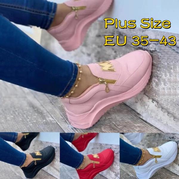 Sneakers, Plus Size, Platform Shoes, Breathable