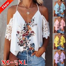 Summer, strapless, Fashion, Floral print