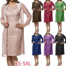 Elegant, Plus Size, Lace, Sleeve