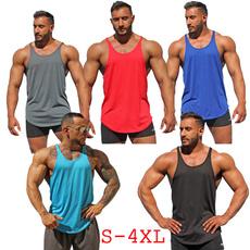 Summer, Vest, Men, joggingvest