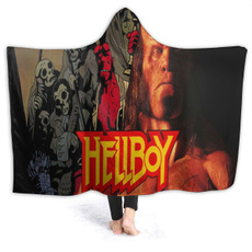 hooded, hooededcoat, Blanket, blankethoodieoutdoor