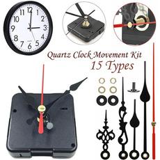 quartzclockkit, Decor, longspindleclock, quartzclockmovementkit