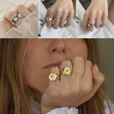 Couple Rings, Fashion, plumblossomring, korean style
