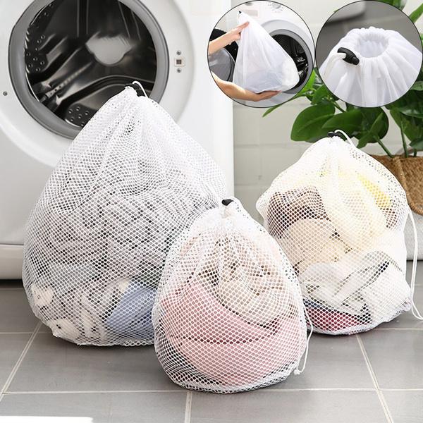 Drawstring Bags, sweaterbag, washingnetbag, washingmeshbag