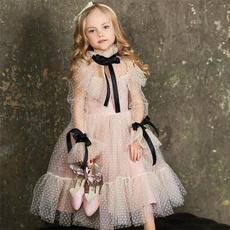 Lace Dress, girlbirthdaypresent, Long Sleeve, girlbirthdaydresse