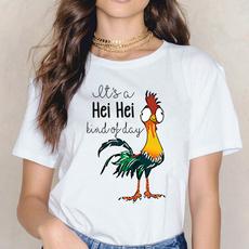 Summer, Fashion, ladiestshirt, Graphic T-Shirt