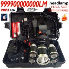 Flashlight, ledheadlamp, Head, Outdoor