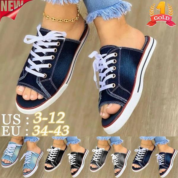 Summer, Sneakers, Spring, Denim